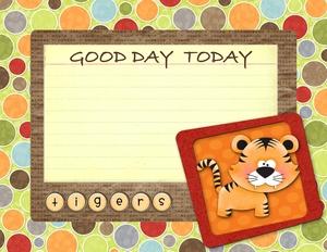 Tiger good day cards p001 medium