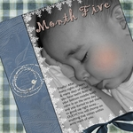 Month 5 - Baby Book (mom_to_two)