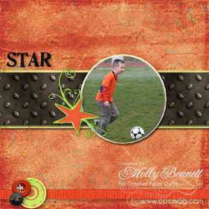 Soccer star medium