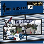 We did it!  First 5K! (jonyce)