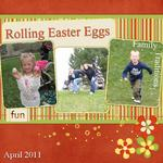 Easter Egg rolling (klcrockett)