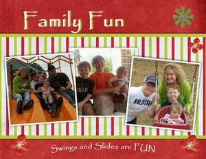 Fun with family medium