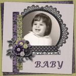 Me as a Baby (craftyjac)