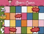 Abby's Chore Chart (craftyjac)