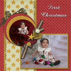 Away in a manger pg 1 medium