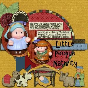 Away in a manger pg 2 medium