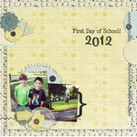 First Day of School 2012 (AmyTeets)