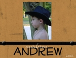 Andrew - 5 years old (JENNA)